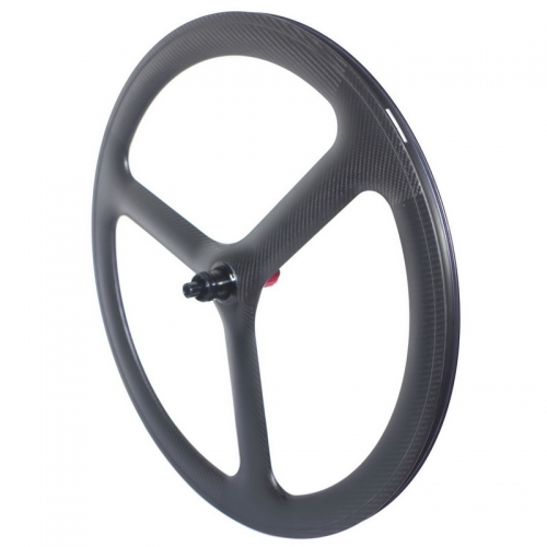 700c tri spoke carbon wheels disc brake road carbon wheels