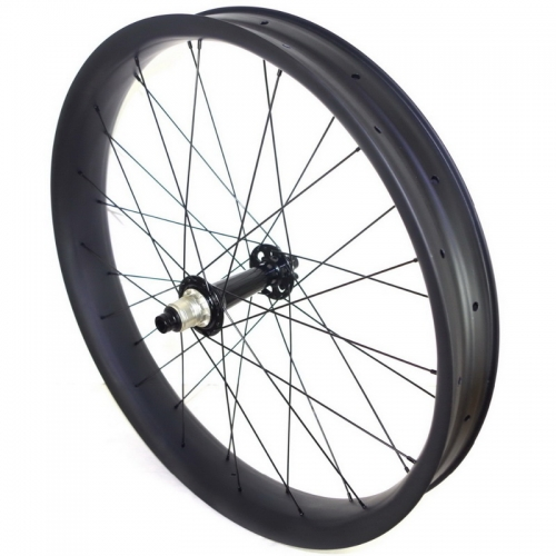 fat bike carbon wheels 26er 80mm width