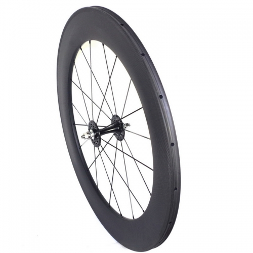 track bike carbon wheels fixed gear carbon wheels carbon track wheels 50mm 60mm 88mm
