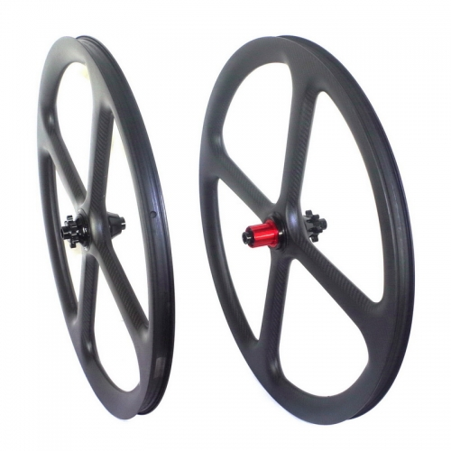 4 Spoke 27.5er carbon mtb wheels tubeless 30mm width