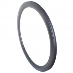 asymmetric road carbon rims 50mm profile tubeless