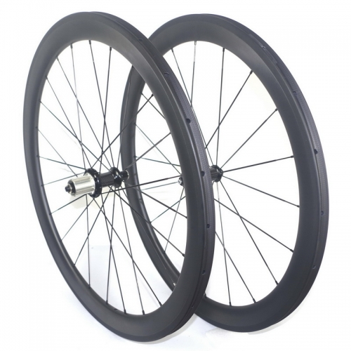 Road bike carbon wheels tubular wheelset 38mm 50mm 60mm profile 23mm width