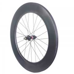 12v carbon road wheels XDR cassettebody disc brake tubular 90mm