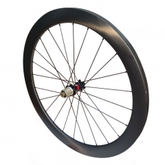 Tubular road carbon wheels disc brake 50mm